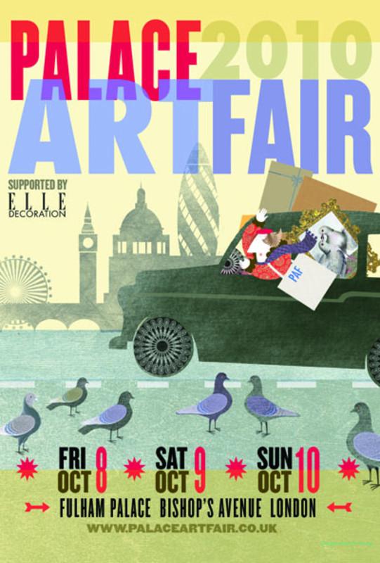 PALACE ART FAIR 2010 - Poster