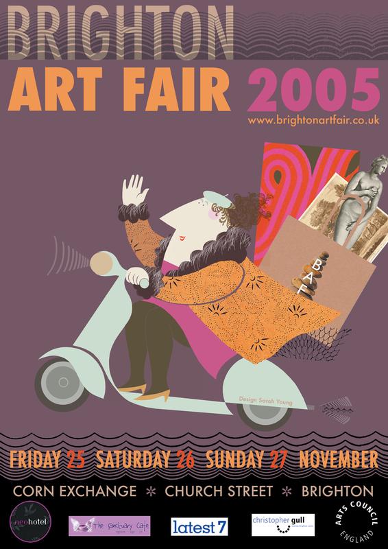 Brighton Art Fair Poster 2005