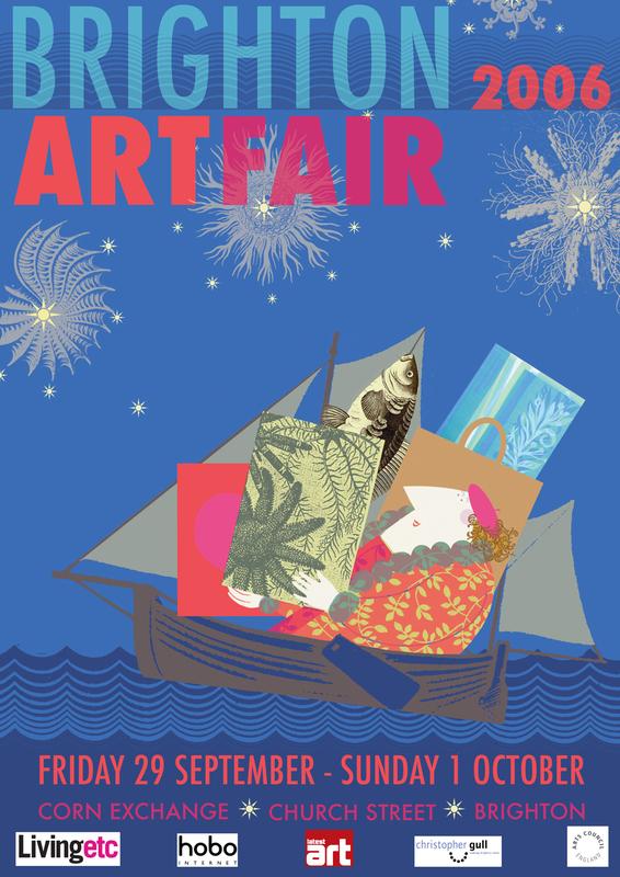 Brighton Art Fair Poster 2006
