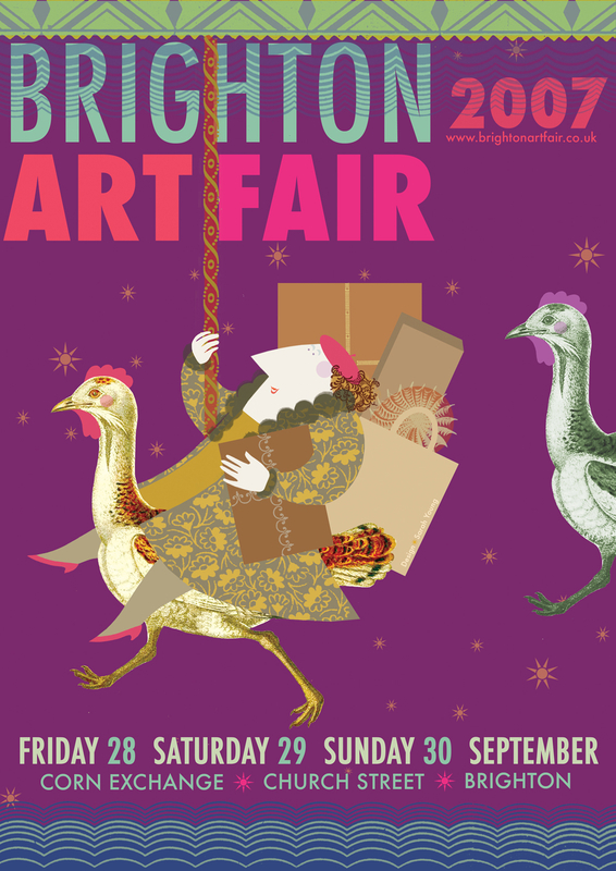 Brighton Art Fair Poster 2007