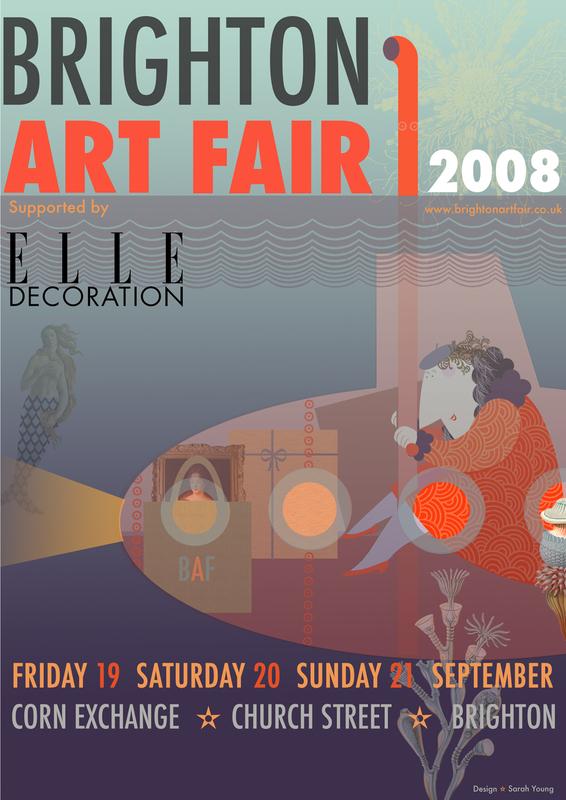 Brighton Art Fair Poster 2008