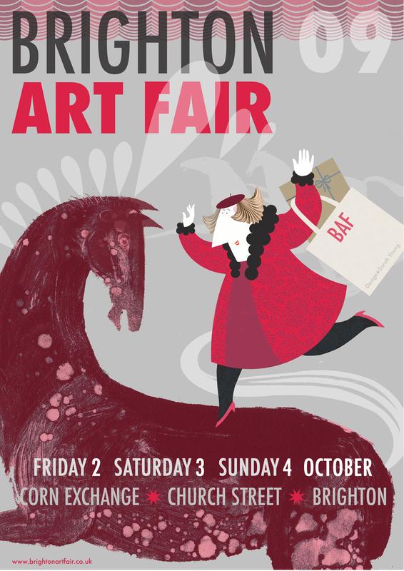 Brighton Art Fair Poster 2009