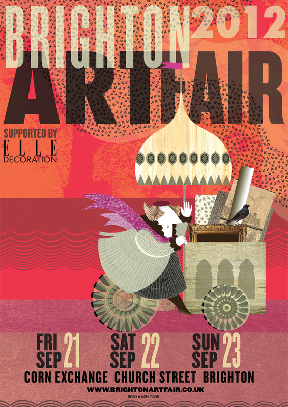 Brighton Art Fair Poster 2012