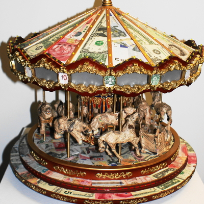 Money makes the merry-go-round