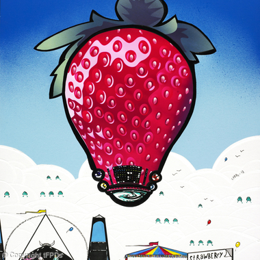 Strawberry Fair 2013 (original artwork)