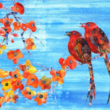 Blossom and Birds