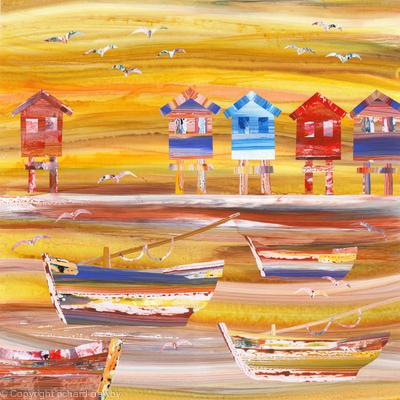 Beach Huts and Boats