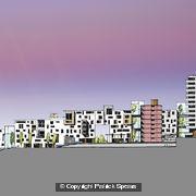 Courtyard Housing Section