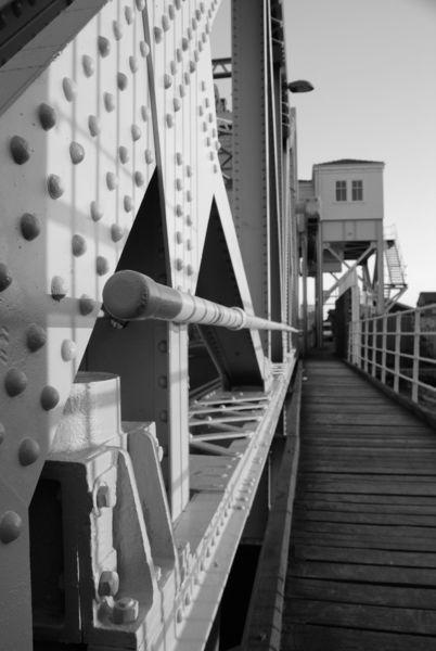 Iron Bascule Bridge
