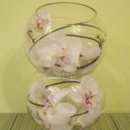 Double Orchid Bowl