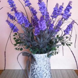 Lavender Jug