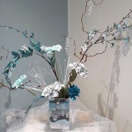 Turquoise Twig Design
