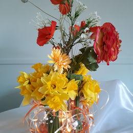 Daffodil and Light display