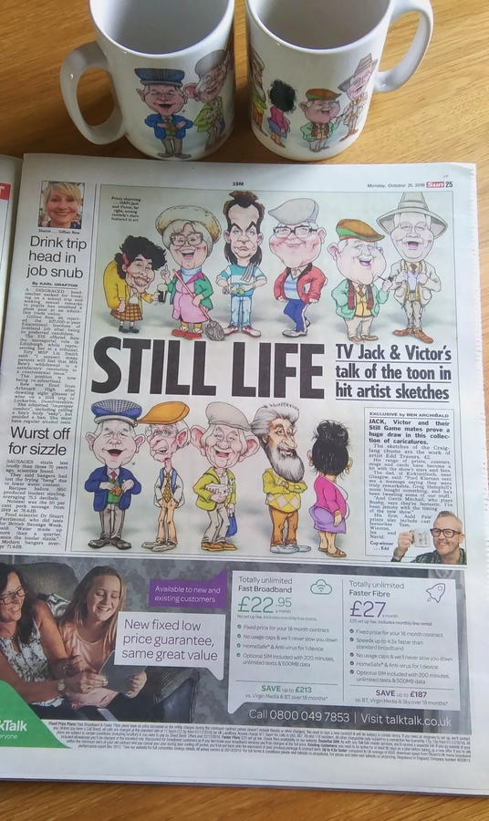 Feature in The Sun Newspaper