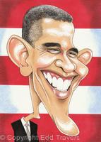 Edd's Heads: President Barack Obama