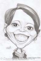 Olivia Colman Sketch