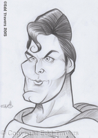 Christopher Reeve as 'Superman' Sketch
