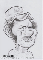 Robert Shaw as 'Quint' from 'JAWS'