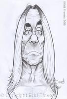 Iggy Pop Sketch