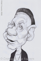 Burgess Meredith as 'Mickey Goldmill' sketch