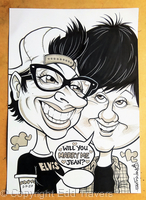 Proposal Gift Caricature