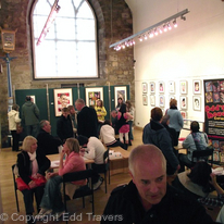 Inside the Auld Kirk Museum