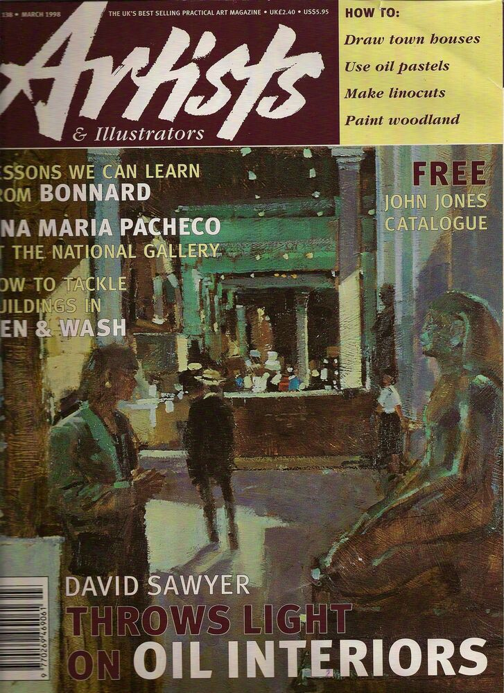 Magazine Cover Page - Davids painting of British Museum Interior