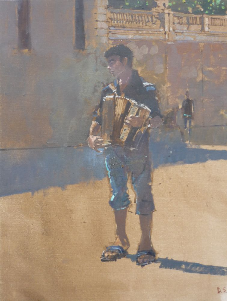 The Sicilian Accordian Player