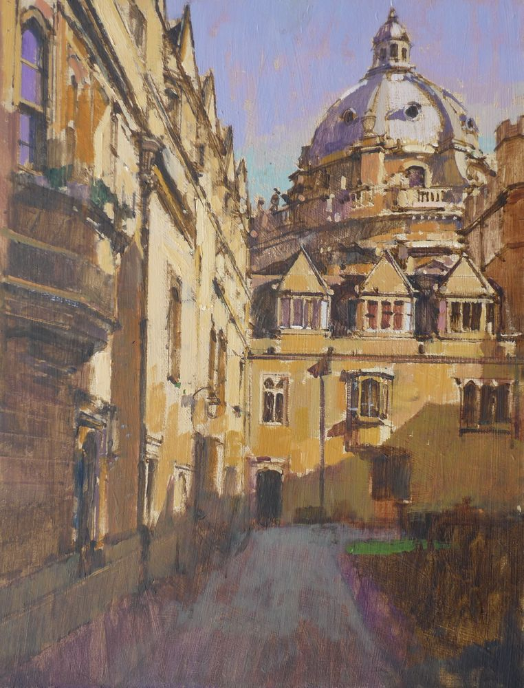 Brasenose, the old quad and Radcliffe Camera, Oxford