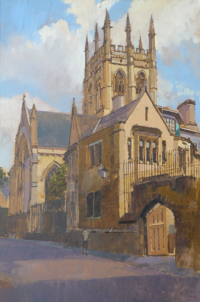 Merton Chapel Tower, Oxford