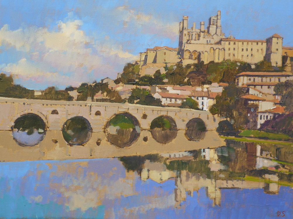 Reflections, The Old Bridge, Beziers