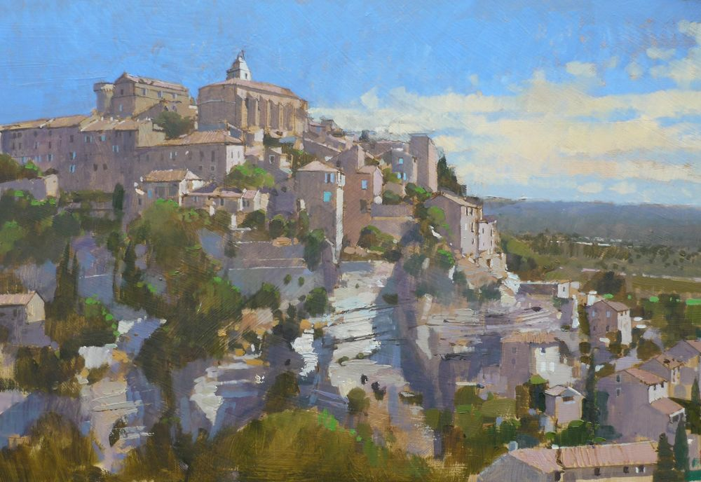 Hillside Village, Gordes, Provence