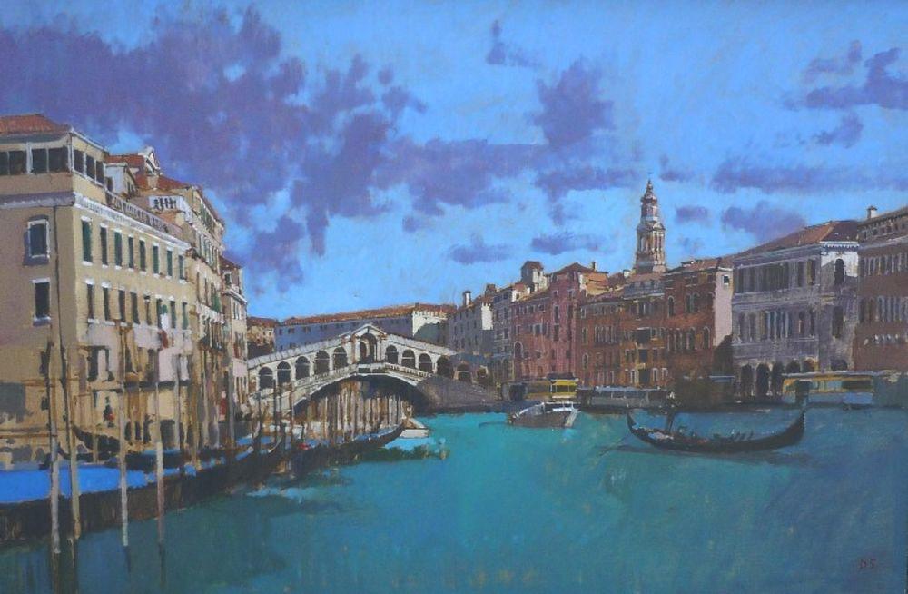 Spring Morning, Rialto, Venice