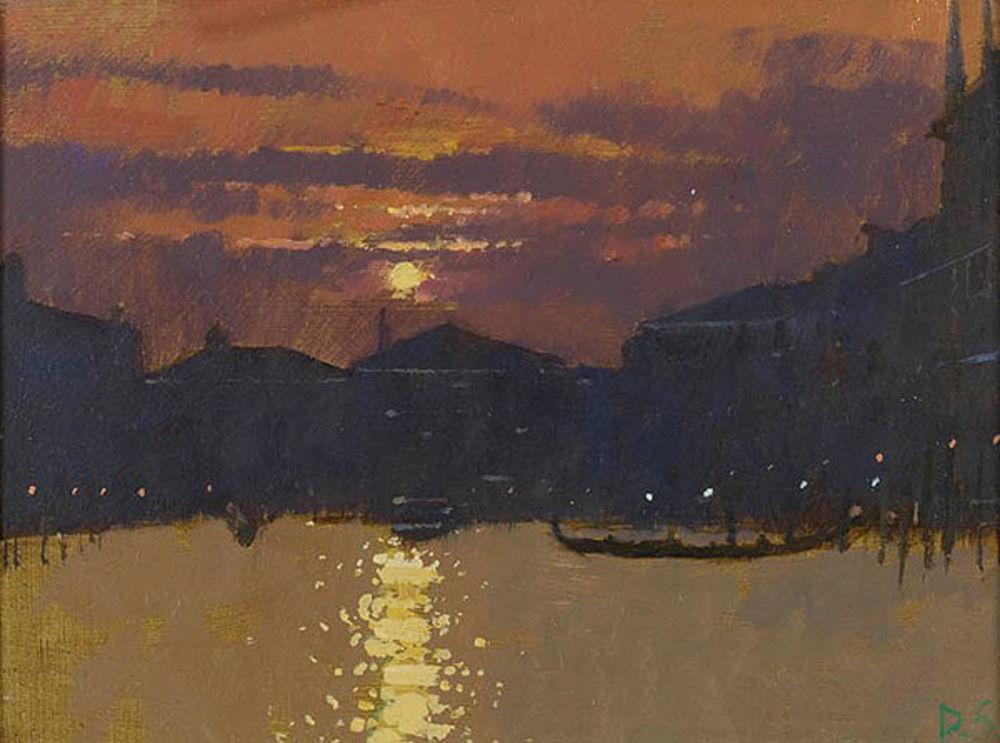 Blazing Sunset, Grand Canal