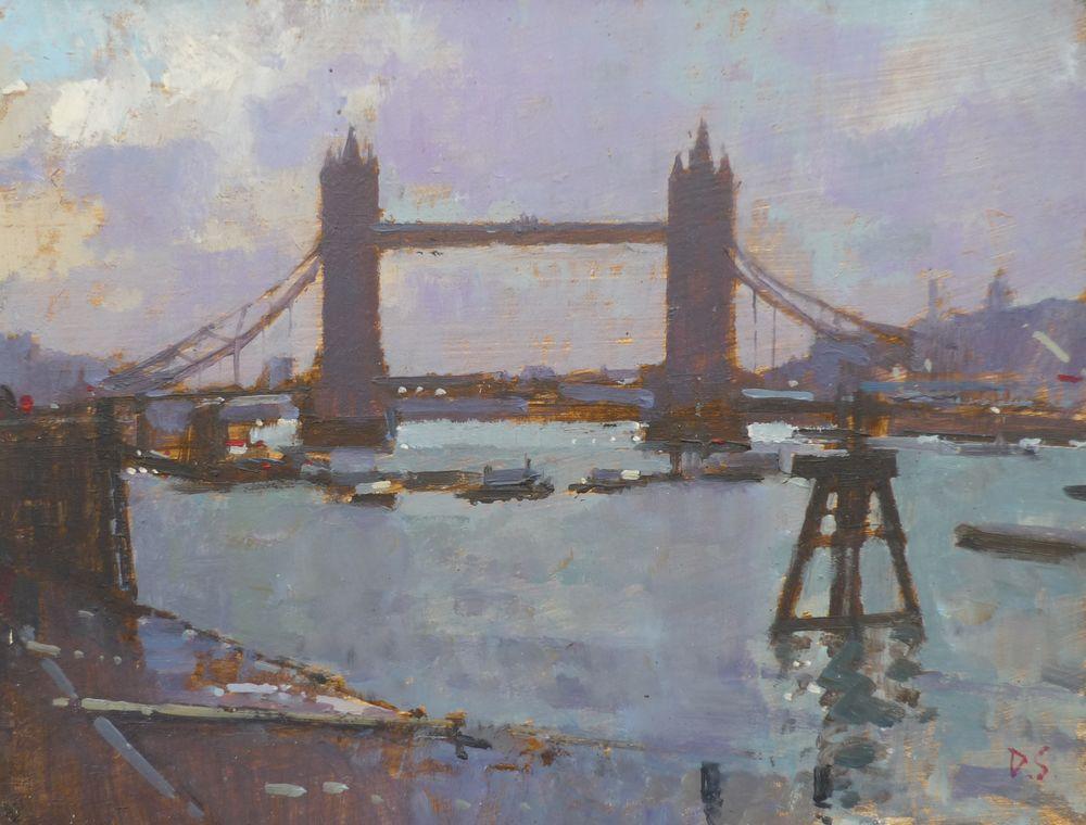 Lowtide - View from Sugar Quary Wharf, London