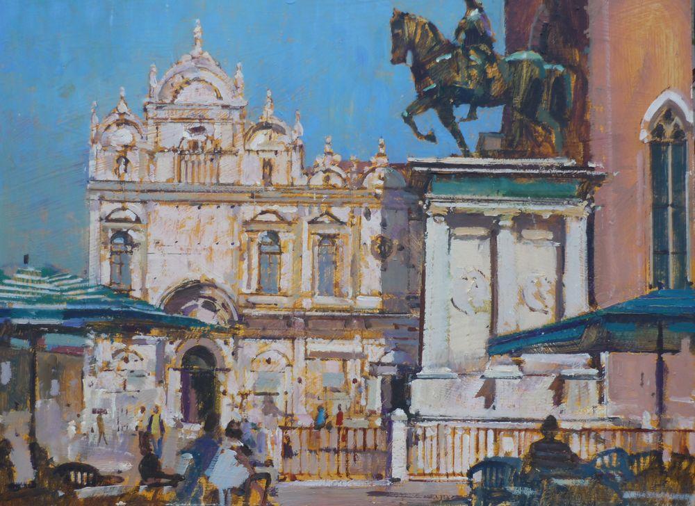 Collone Statue, Venice