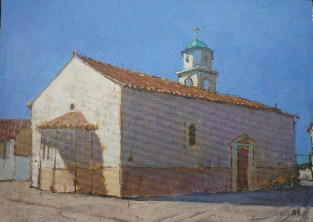 Shadows, Greek Church, Mani