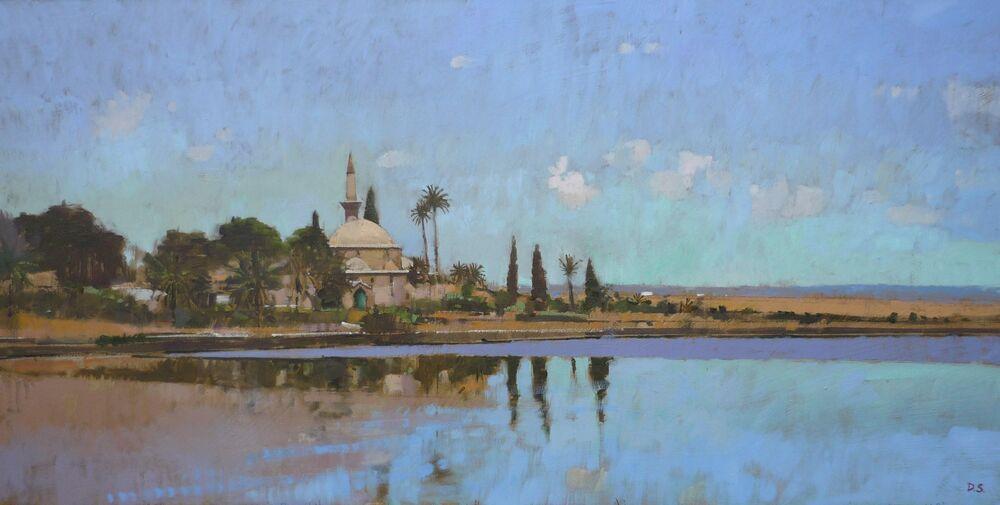 Hala Sultan Tekke Mosque - Larnaca, Cyprus
