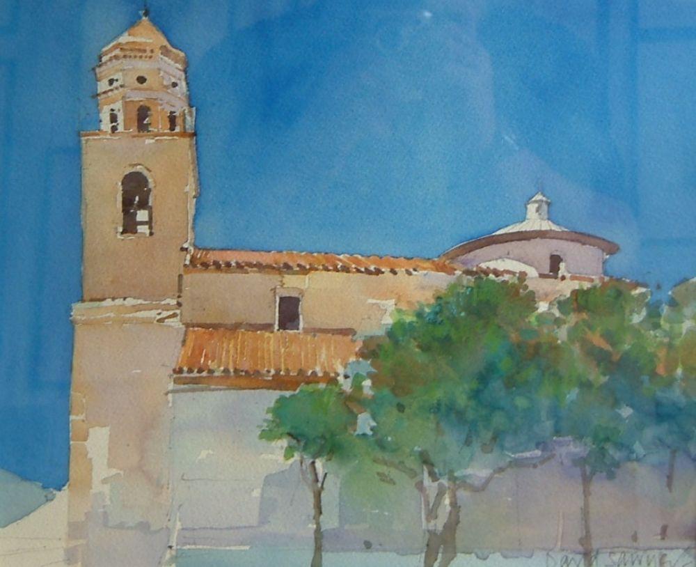 Santa Maria Della Rosa, San Vittore del Lazio, Near Cassino