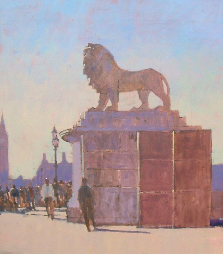 Codestone Lion, South Bank, London