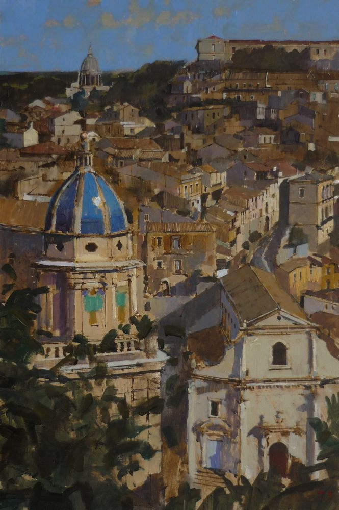 The Blue Dome, Ragusa Ibla, Sicily