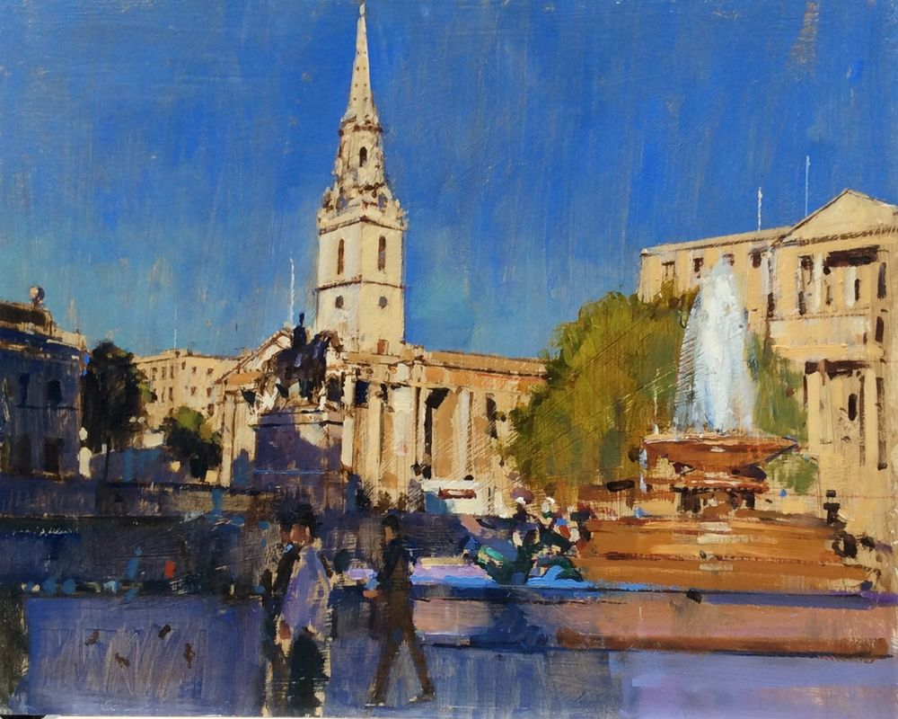 St Martins in the Fields, Trafalgar Square, London