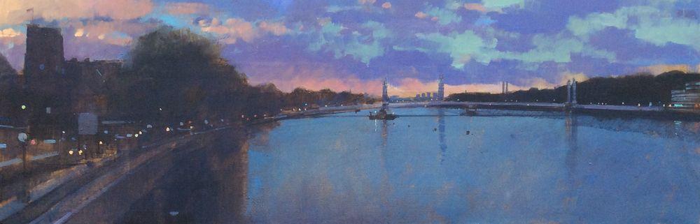 October, Chelsea Embankment