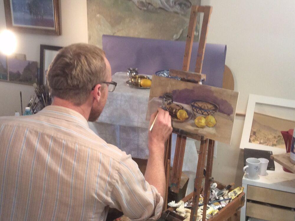 2015 Richard Still Life in the Studio