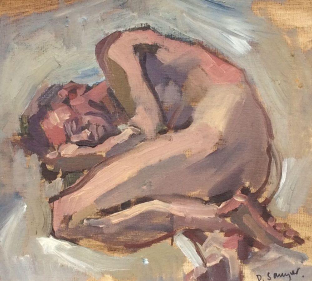 Male,Sleeping Figure
