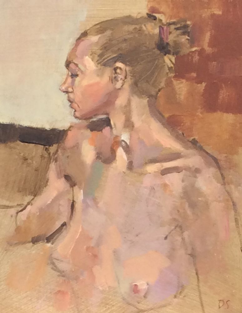 Portrait, Nude
