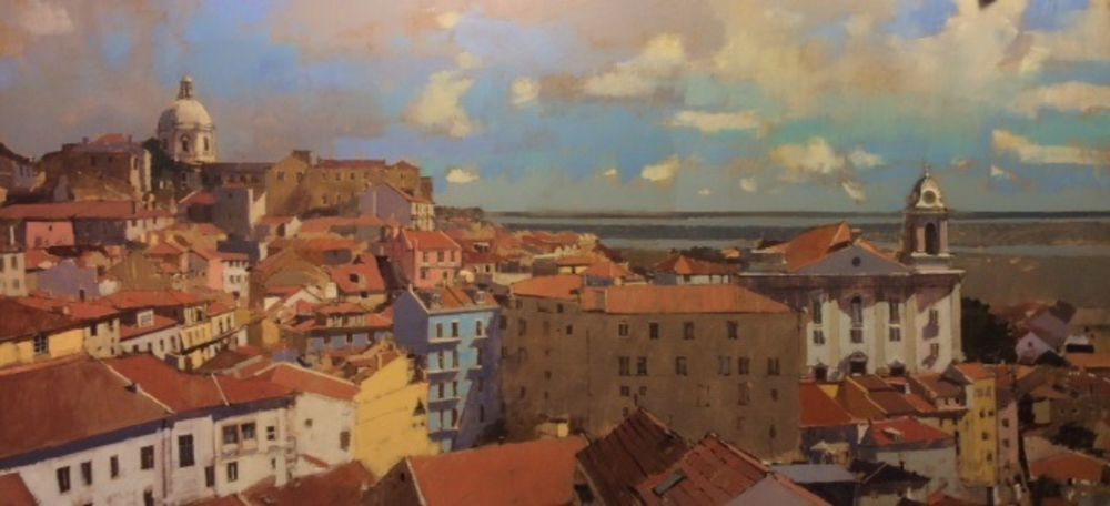 View from the Miradouro de Santa Luzia, Lisbon
