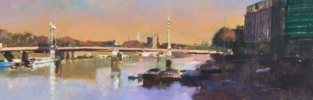 Autumn Light, Albert Bridge