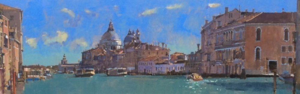 Late Winter Sun, View from the Accademia Bridge, Venice