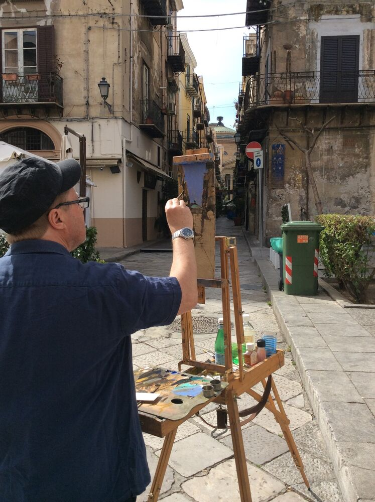 Palermo plein air
